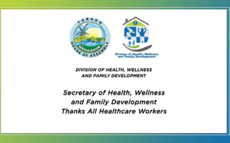Secretary of DHWFD Thanks all Healthcare Workers