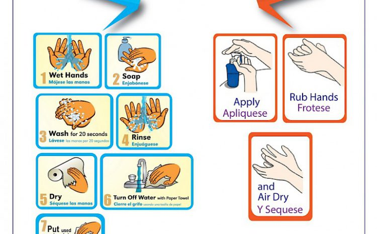 Proper Way to Wash and Clean Hands