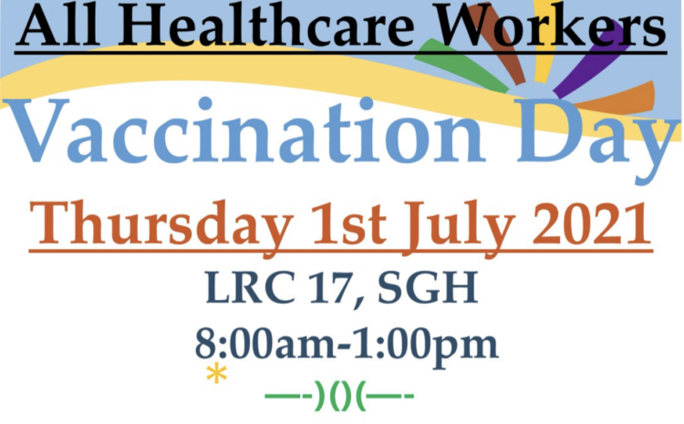 Scarborough General Hospital Vaccination Day!